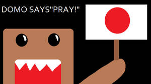Domo Says PRAY by Eternal-Flame15