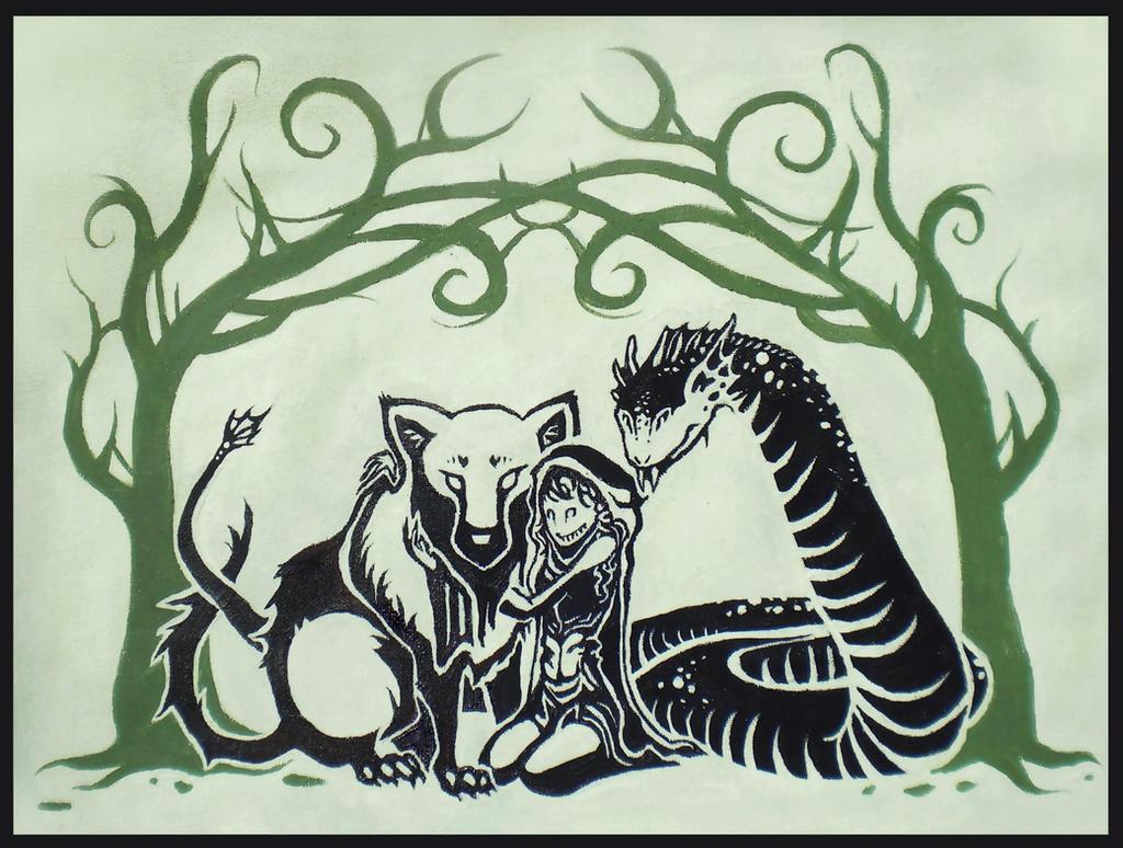 Loki's Children by AnywhereButReality on DeviantArt Lokis Children Norse Mythology