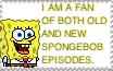 SpongeBob episodes stamp by GoForAPerfect2010