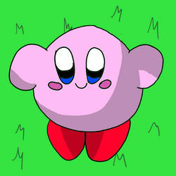 Kirby wants a hug.