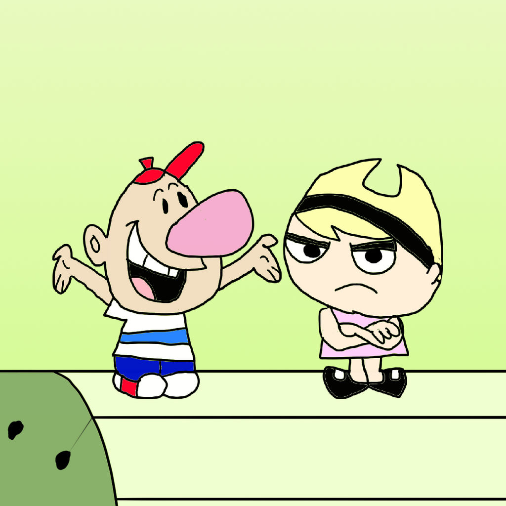 Billy And Mandy By Goforaperfect2010 On Deviantart