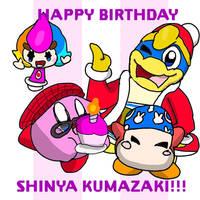 Happy Birthday Shinya Kumazaki by GoForAPerfect2010