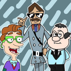 Swagmaster, Drew Pickles, and Mr. Rental