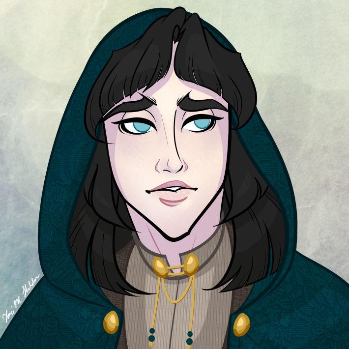 Dexia Stoutwood - Character Portrait
