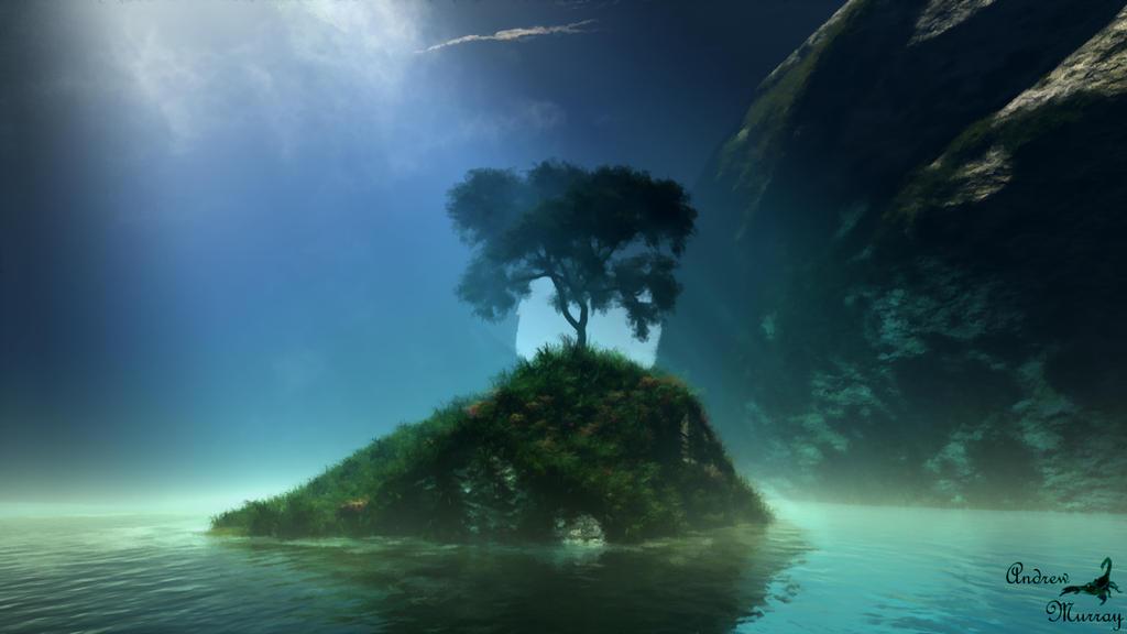 Ariel's Grotto by arachnid223