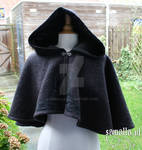 Commissioned wool riding hood
