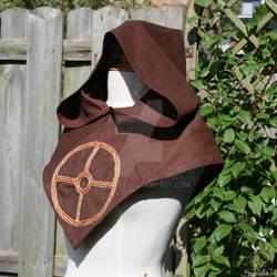 Brown linen hood (Sun)