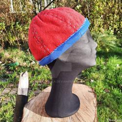 Birka Hat red wool