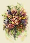 Simple Flower Composition