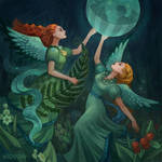 Angels in the Secret Forest