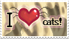 Love cats stamp by Ali-zarina