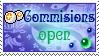 Point CM open stamp by Ali-zarina