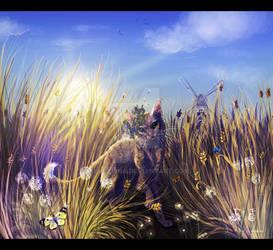 golden wheat...