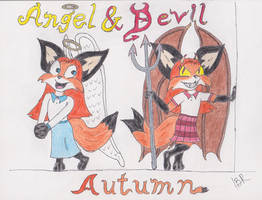 Autumn - Angel and Devil