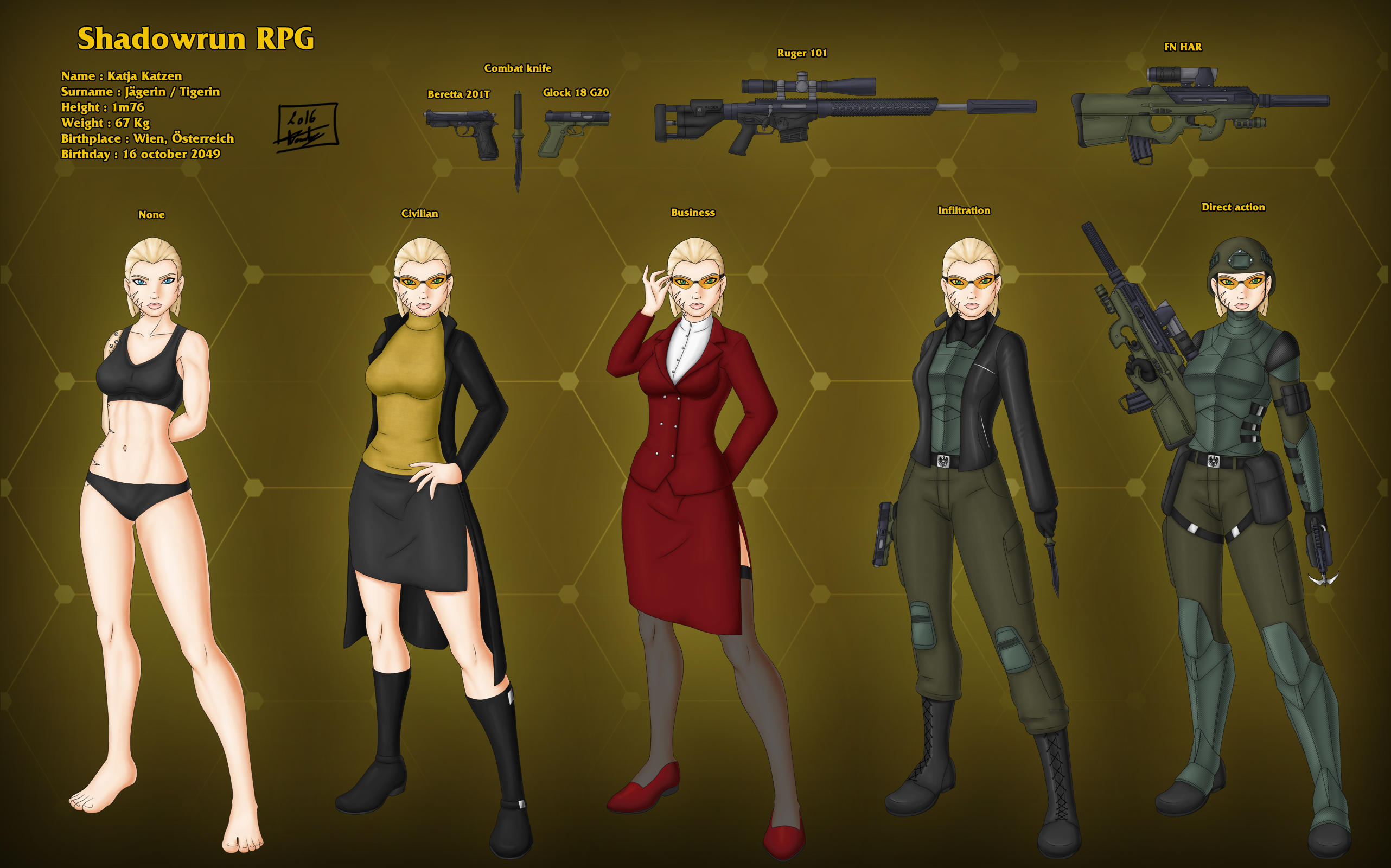 shadowrun charactersheet From the publishers website: shadowrun: anarchy is a new way to get into the best cyberpunk/urban fantasy action around based upon the rules-light and easy-to-learn cue system, shadowrun.