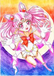 Sailor Chibi Moon by Draconine