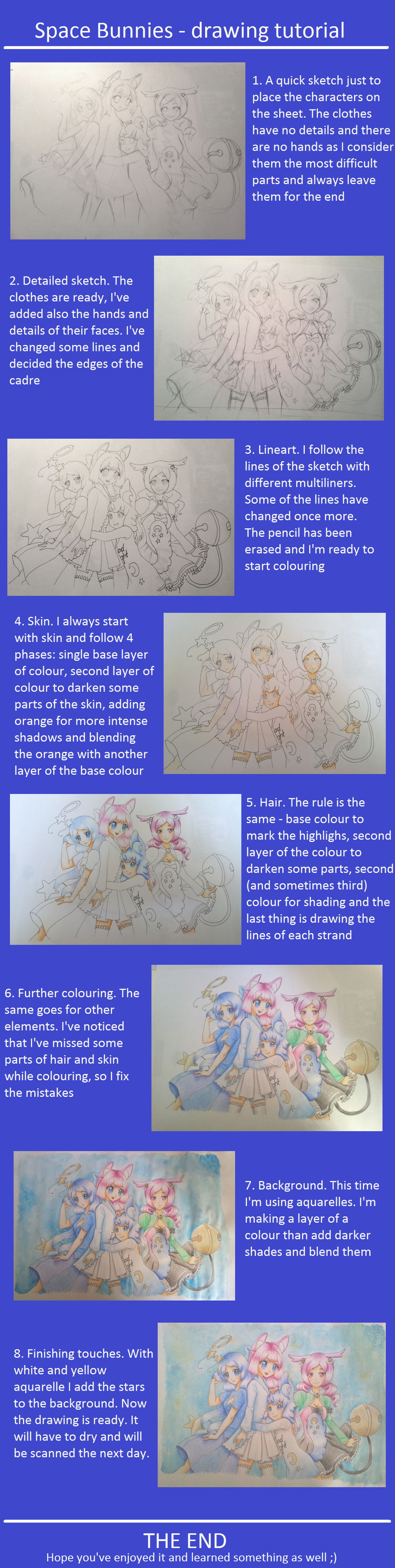 Space bunnies drawing tutorial by draconine on deviantart for Space art tutorial