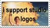 I support studio logos by MaxDrawsFatsMostly