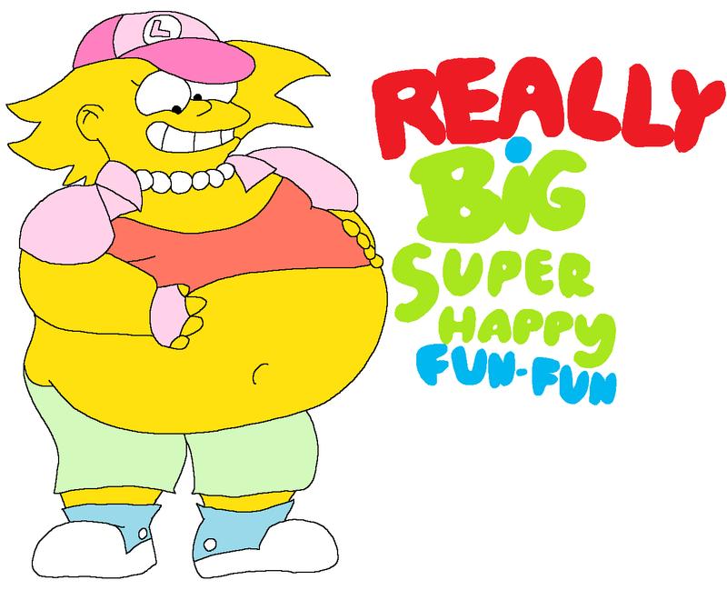 girl simpson Fat homer