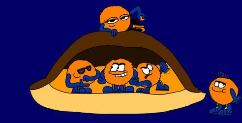 Orange Biscuit Fuzzballs by Maxtaro