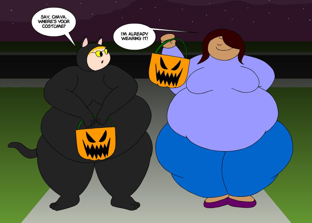Fat A Shallow Hal Loween By Maxtaro On Deviantart