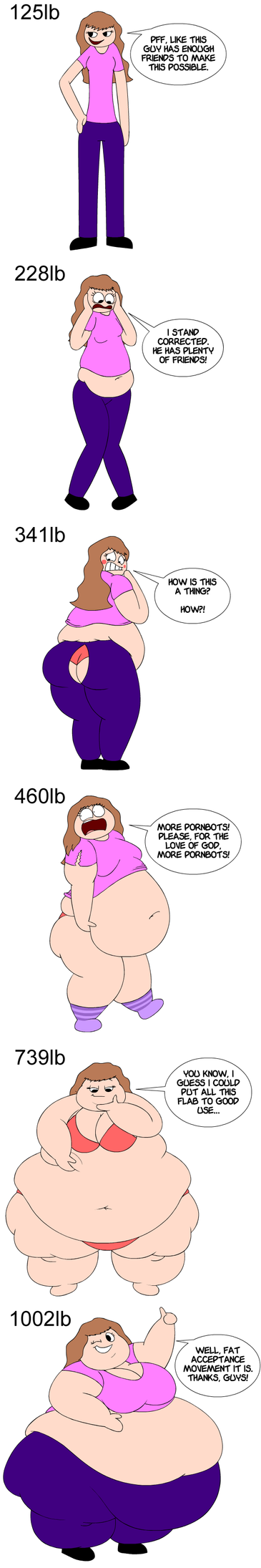 FAT: My forced attempt at the note expansion meme by Maxtaro