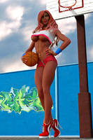 Basketball pinup #1 by blinded-dinosaur