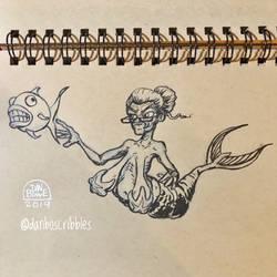 Mermaid Granny by DanBowe