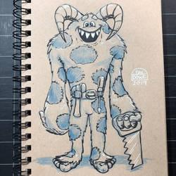 Handy monster by DanBowe