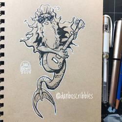 ZZ Top Mermaid by DanBowe