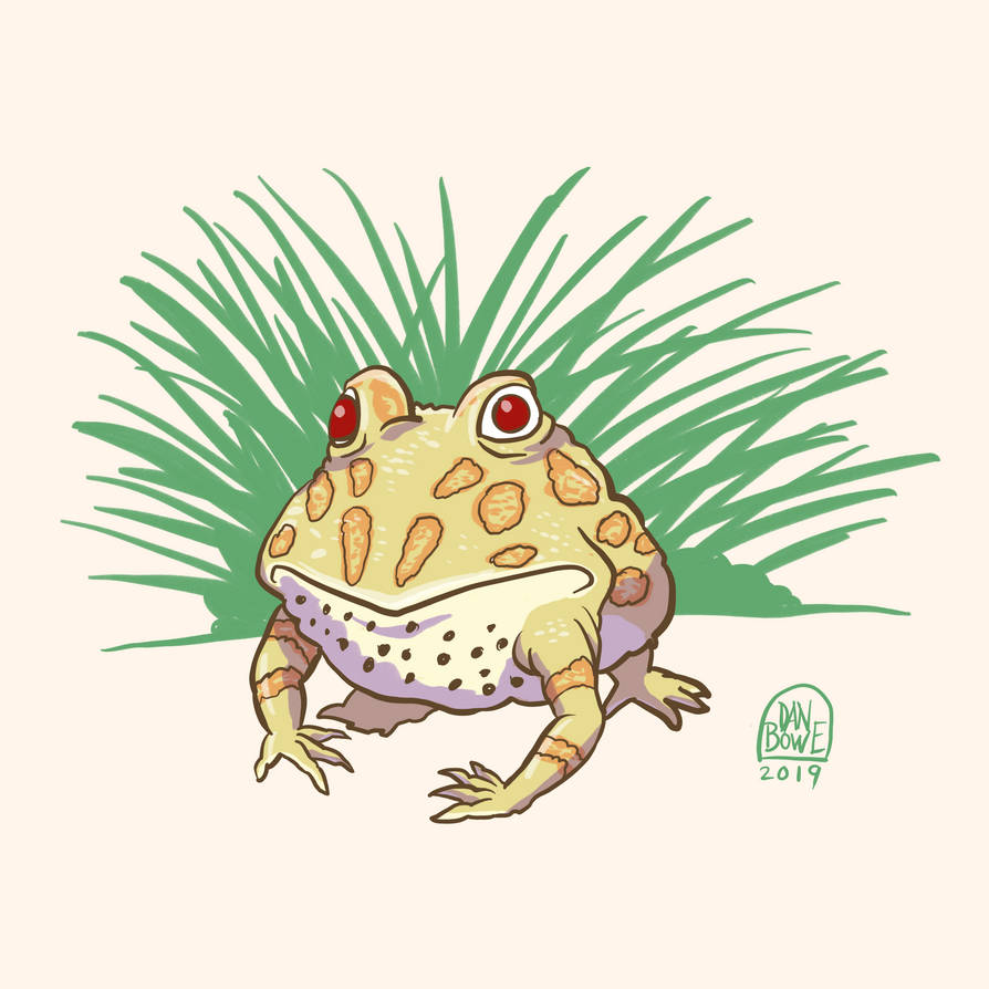 Pacman Frog by DanBowe