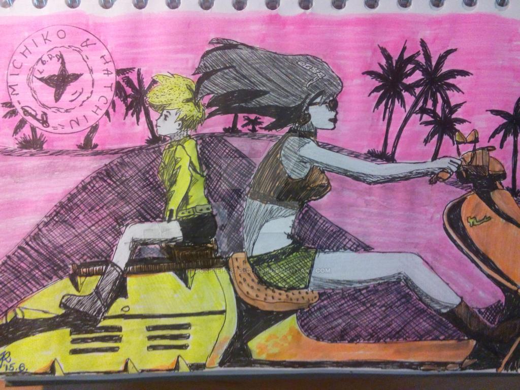 Michiko and Hatchin fi...