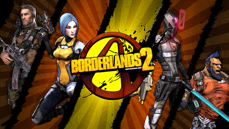 Borderlands 2 Wallpaper - Crossing the Lines by mentalmars