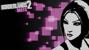 Borderlands 2 Wallpaper - Blacklist (Maya)