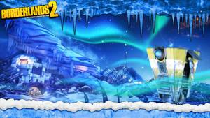 Borderlands 2 Wallpaper - Icescape (ClapTrap)