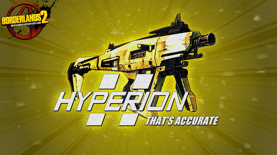 Borderlands 2 Wallpaper - Hyperion by mentalmars