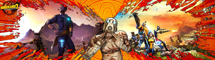 Borderlands 2 Wallpaper - Doubleshot Pshyco XL by mentalmars