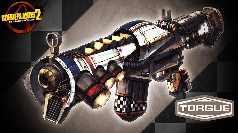 Borderlands 2 Wallpaper - Torgue by mentalmars