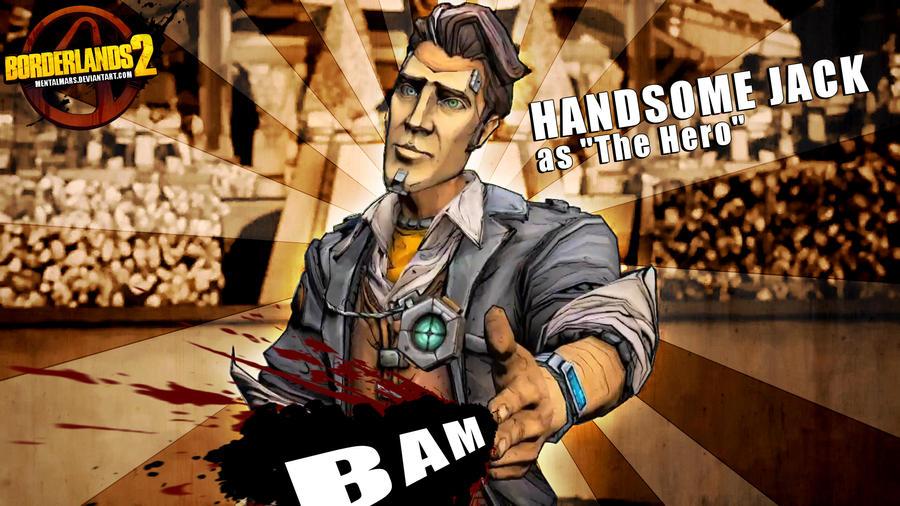 Borderlands 2 Wallpaper - Jack 'the Hero' by mentalmars
