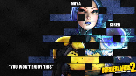 Borderlands 2 Wallpaper - Legacy (Maya) by mentalmars