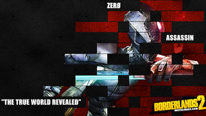 Borderlands 2 Wallpaper - Legacy (Zero) by mentalmars