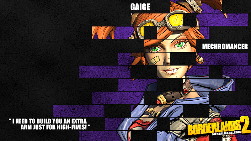 Borderlands 2 Wallpaper - Legacy (Gaige) by mentalmars on DeviantArt