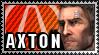Borderlands 2 Stamp - Axton by mentalmars