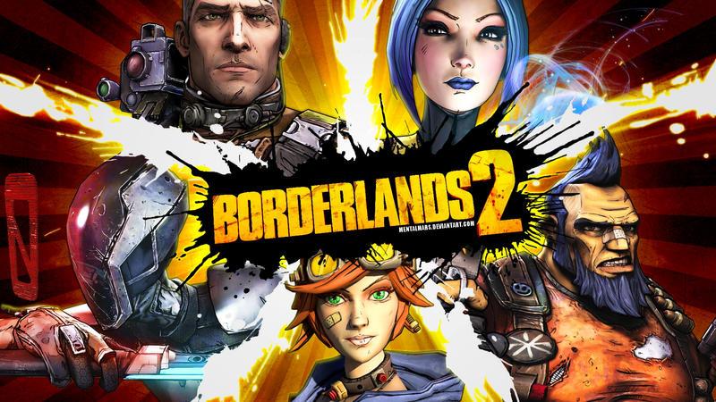 Borderlands 2 Wallpaper - Crossing Over by mentalmars