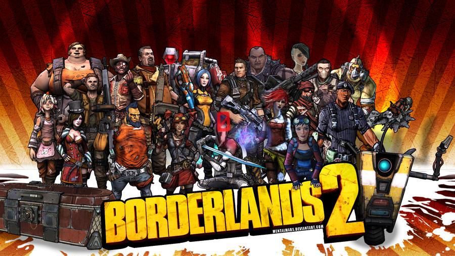 Borderlands2 Wallpaper - Fight Back by mentalmars