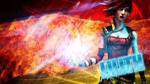 Borderlands2 - Lilith wallpaper - the firehawk