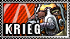 Borderlands 2 Stamp - Krieg by mentalmars