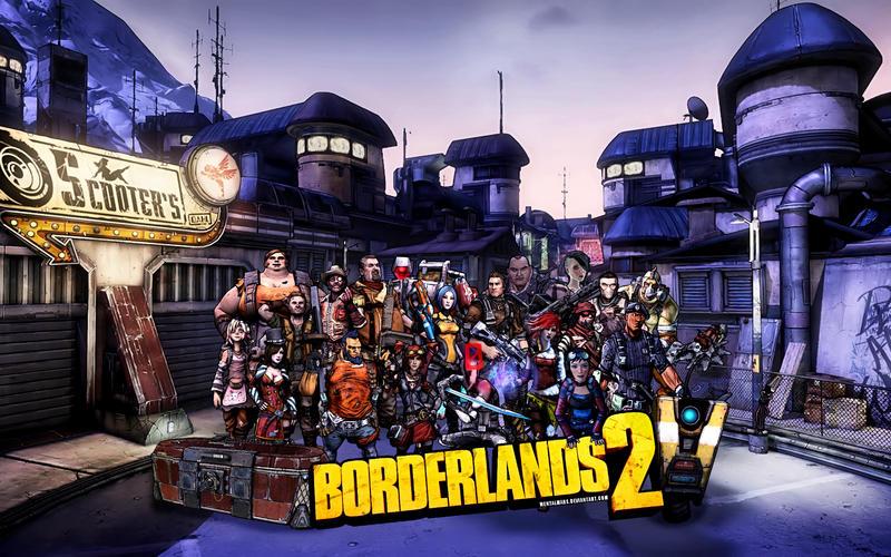 Borderlands 2 Crimson Raiders Wallpaper by mentalmars