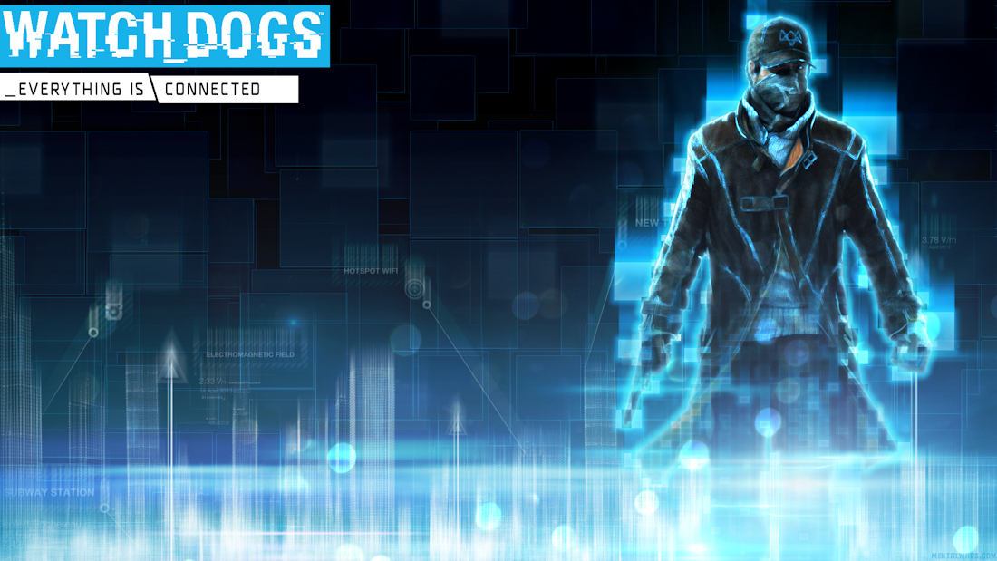 Watch dogs wallpaper - Connected by mentalmars