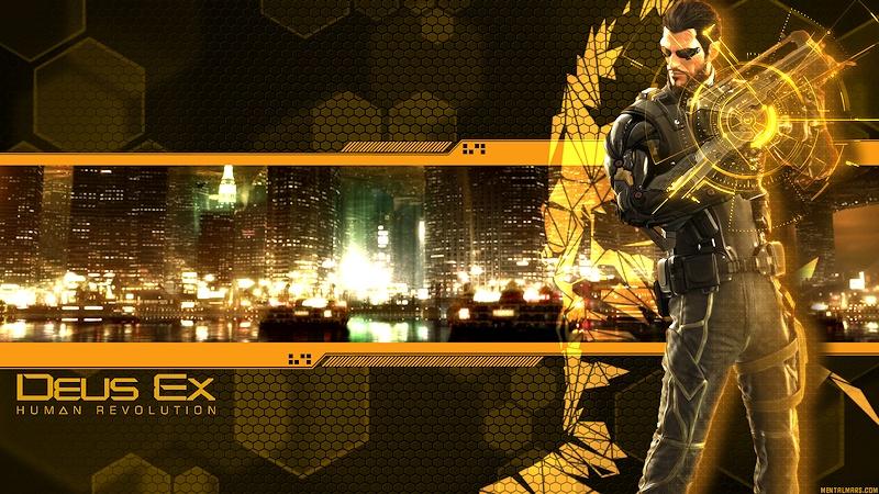 Deus Ex - Human Revolution Wallpaper by mentalmars